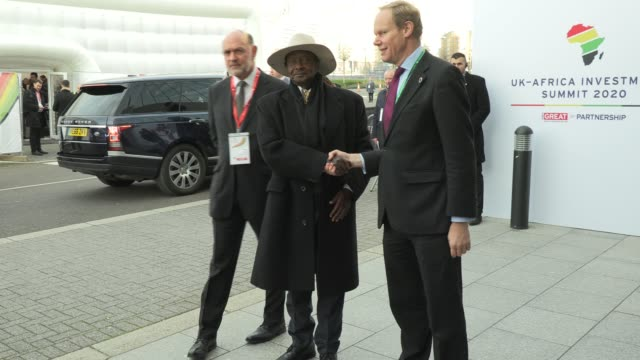 GBR: UK-Africa Investment Summit - Reception