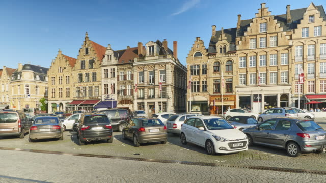 Ypres Downtown Time Lapse