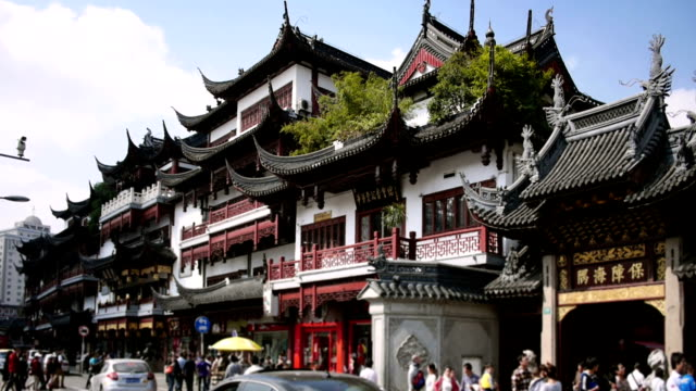 yu yuan in shanghai china - old town stock videos & royalty-free footage