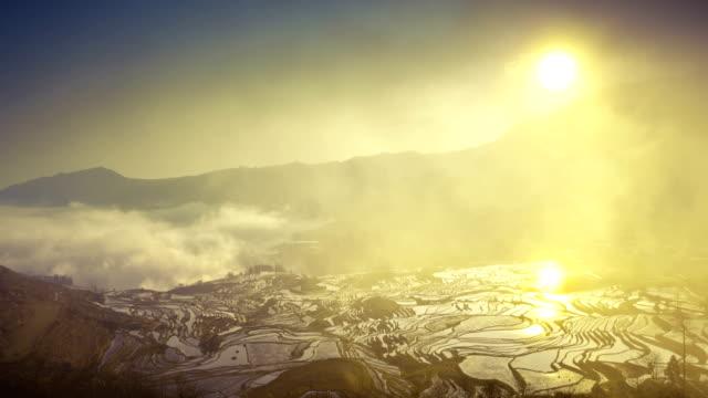 Yuanyang campi terrazzati in Yunnan