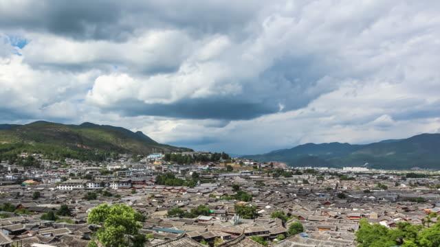 T/L WS HA Yunnan Pan Lijiang ancient city
