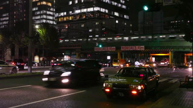 Yurakucho night traffic