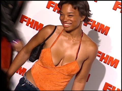 Yuri Brown at the FHM Magazine 100 Sexiest Women at La Boheme in West Hollywood California on May 17 2001