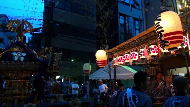 yushima tenjin festival - 伝統行事点の映像素材/bロール