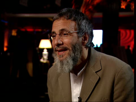 Yusuf Islam aka Cat Stevens peforms after 25 years in third world fundraiser Interview Yusuf Islam interview continues SOT People like the album...