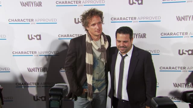 Yves Behar and Narciso Rodriguez at the 2nd Annual Character Approved Awards Cocktail Reception at New York NY
