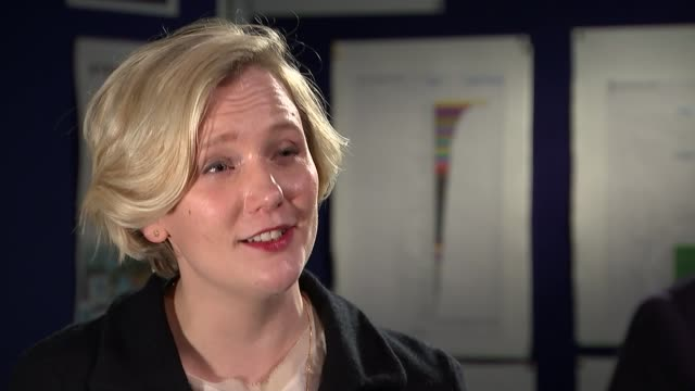 Yvette Cooper speaks out about online abuse faced by some women ENGLAND London INT Stella Creasy MP interview SOT re online abuse and harassment...