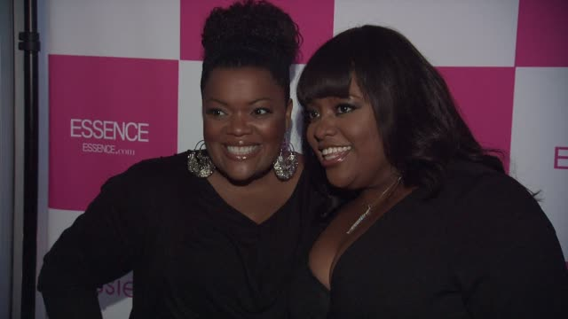 Yvette Nicole Brown and Sherri Shepherd at the ESSENCE's Wendy Williams Cover Party/Girlfriend's Appreciation Day at New York NY
