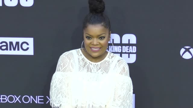 Yvette Nicole Brown at AMC's 'The Walking Dead' 100th Episode Season 8 Special Premiere Screening at The Greek Theatre on October 22 2017 in Los...