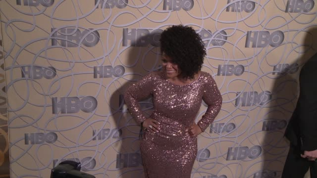 Yvette Nicole Brown at HBO's Official 2017 Golden Globe Awards After Party Arrivals at The Beverly Hilton Hotel on January 08 2017 in Beverly Hills...