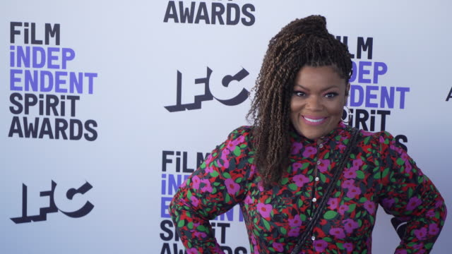 yvette nicole brown at the 2020 film independent spirit awards on february 08, 2020 in santa monica, california. - film independent spirit awards stock videos & royalty-free footage