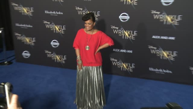 Yvette Nicole Brown at the 'A Wrinkle In Time' World Premiere at the El Capitan Theatre on February 26 2018 in Hollywood California