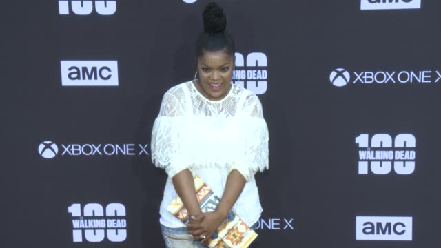 Yvette Nicole Brown at the AMC's 'The Walking Dead' 100th Episode Season 8 Special Premiere Screening at The Greek Theatre on October 22 2017 in Los...