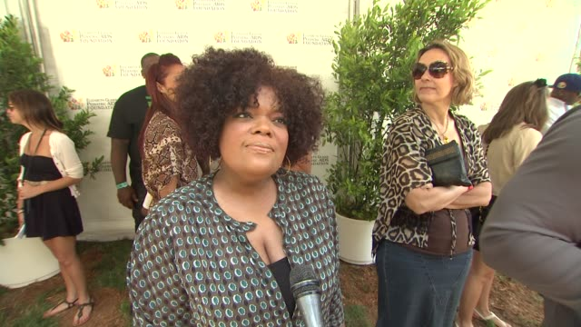 Yvette Nicole Brown on coming out today and on the work EGPAF does at 23rd Annual 'A Time For Heroes' Celebrity Picnic Benefiting The Elizabeth...