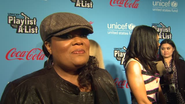 Yvette Nicole Brown on what brings her out why she wanted to support UNICEF and what makes UNICEF such a respected organization at 2012 UNICEF...