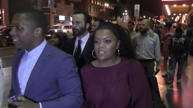 Yvette Nicole Brown outside Hamilton Opening Night at Pantages Theatre in Hollywood in Celebrity Sightings in Los Angeles