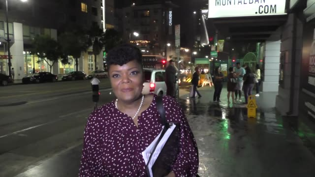 Yvette Nicole Brown outside Montalban Theater Hollywood at Celebrity Sightings in Los Angeles on September 17 2016 in Los Angeles California