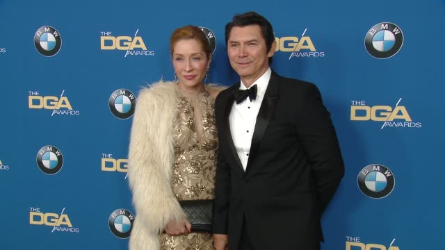 yvonne boismier phillips and lou diamond phillips at the 70th annual dga awards at the beverly hilton hotel on february 03 2018 in beverly hills... - yvonne boismier phillips stock videos & royalty-free footage