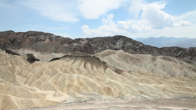 zabriskie point, death valley national park, california - zabriskie point stock videos & royalty-free footage