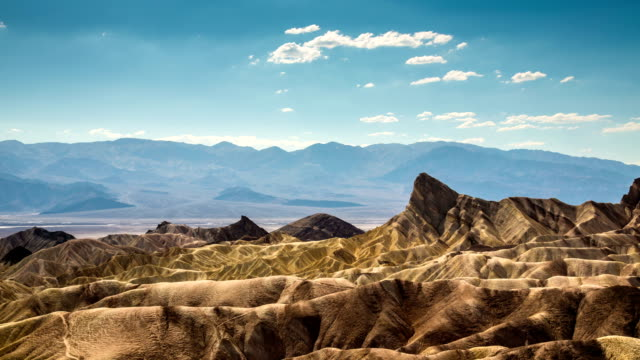 TIME LAPSE: Zabriskie Point Death Valley
