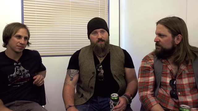 INTERVIEW Zac Brown Band on gigging touring writing and having control over merchandise at Hardrock Calling 2013 at Queen Elizabeth Olympic Park on...