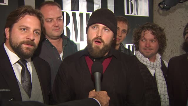 Zac Brown Band on how they approach songwriting at the BMI Country Awards at Nashville TN