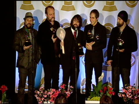 Zac Brown Band on the Grammy Awards and their music at the 53rd GRAMMY Awards Press Room at Los Angeles CA