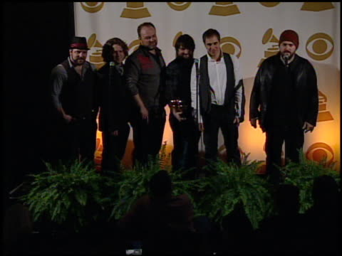 Zac Brown Band on winning tonight at the 52nd Annual GRAMMY Awards Press Room at Los Angeles CA