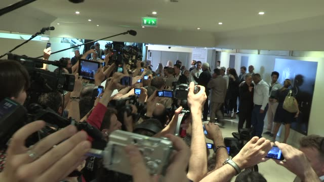 zac efron at 65th cannes film festival 2012 sighted: zac efron at 65th cannes film festival 20 at palais de festivals on may 24, 2012 in cannes,... - avvistamenti vip video stock e b–roll