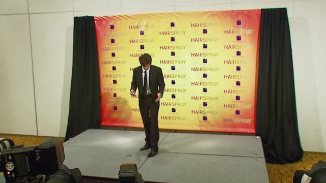 zac efron at the 2007 showest at the paris hotel in las vegas, nevada on march 14, 2007. - paris las vegas stock videos & royalty-free footage