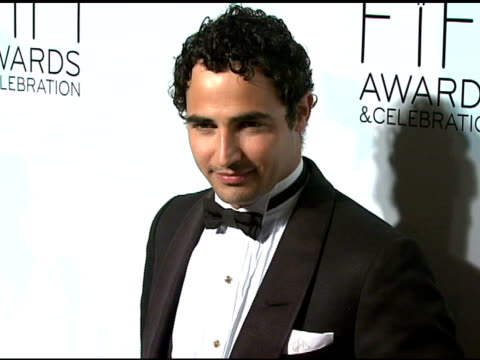 Zac Posen at the Fragrance Foundation Presents 36th Annual FiFi Awards and Celebration at the Park Avenue Armory in New York New York on May 20 2008