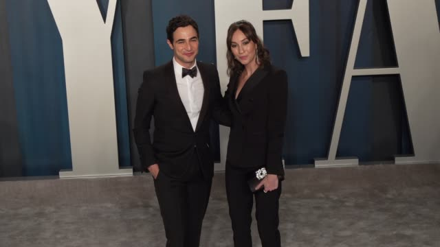 zac posen at vanity fair oscar party at wallis annenberg center for the performing arts on february 09, 2020 in beverly hills, california. - vanity fair stock videos & royalty-free footage
