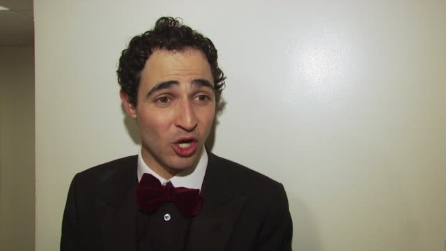 zac posen on being glad to be in his hometown of ny on supporting the rock band the like on having a film produced by gia coppola at the zac posen... - hometown bildbanksvideor och videomaterial från bakom kulisserna