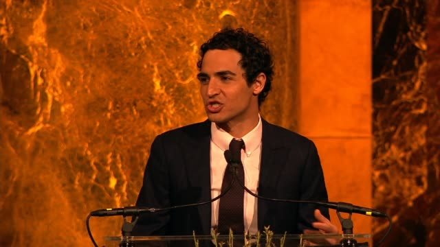 zac posen on how many powerful women are present at variety's power of women: new york at cipriani 42nd street on april 25, 2014 in new york city. - cipriani manhattan stock videos & royalty-free footage
