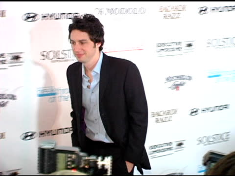 zach braff at the hollywood life's 4th annual breakthrough of the year awards arrivals and show at the music box theater in hollywood california on... - zach braff stock videos & royalty-free footage