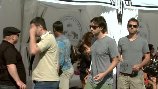 Zach Braff at the NIVEA / Shay Todd Memorial Day Weekend Malibu 'Bikini Bash' at Malibu CA