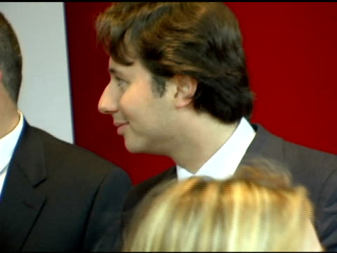 zach braff at the 'the devil wears prada' new york premiere at amc loews lincoln square in new york new york on june 19 2006 - the devil wears prada film title stock videos and b-roll footage
