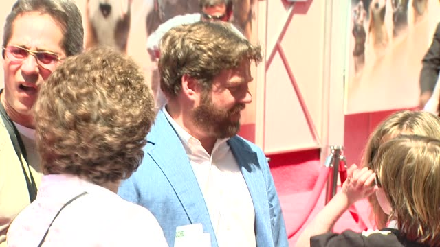 zach galifianakis at the 'g-force' premiere at hollywood ca. - g force stock videos & royalty-free footage