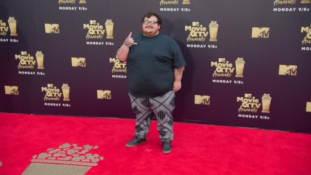 Zach Holmes at 2018 MTV Movie TV Awards Arrivals at Barker Hangar on June 16 2018 in Santa Monica California