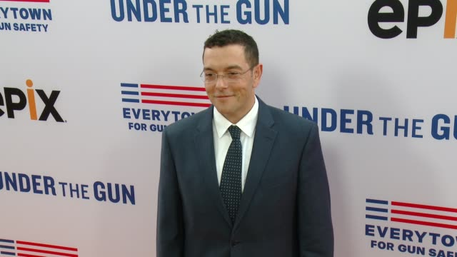 zach silk at the under the gun los angeles premiere at samuel goldwyn theater on may 03 2016 in beverly hills california - samuel goldwyn theater stock videos & royalty-free footage