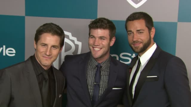 Zachary Levi at 13th Annual Warner Bros And InStyle Golden Globe AfterParty on 1/15/2012 in Beverly Hills CA
