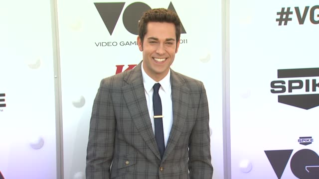 Zachary Levi at Spike TV's 2011 Video Game Awards on in Los Angeles CA
