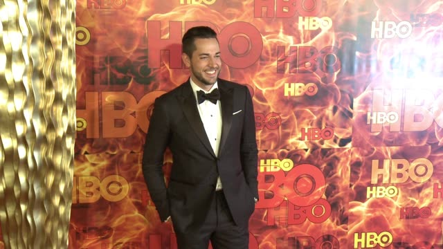 Zachary Levi at the 2015 HBO Emmy After Party at The Plaza at the Pacific Design Center on September 20 2015 in Los Angeles California