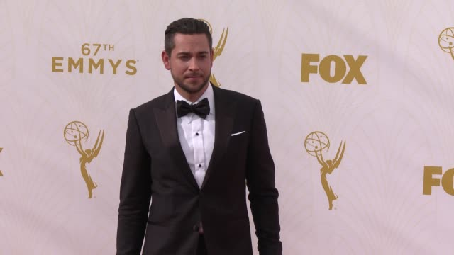 Zachary Levi at the 67th Annual Primetime Emmy Awards at Microsoft Theater on September 20 2015 in Los Angeles California