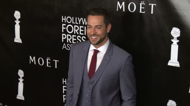 Zachary Levi at the Hollywood Foreign Press Association's Annual Grants Banquet Dinner at the Beverly Wilshire Four Seasons Hotel on August 13 2015...