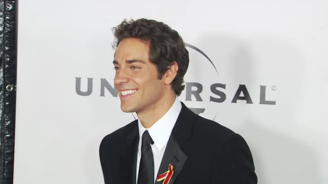 zachary levi at the nbc universal 67th annual golden globe awards after-party at beverly hills ca. - levi's stock videos & royalty-free footage
