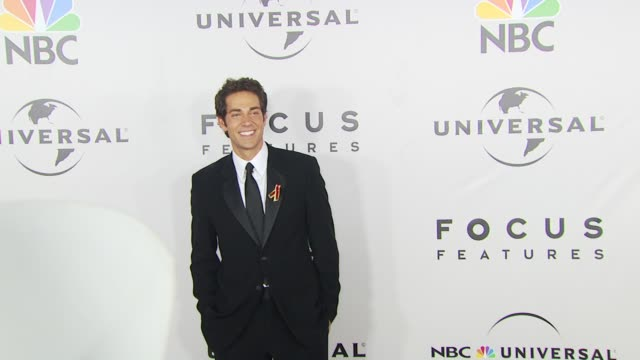 Zachary Levi at the NBC Universal 67th Annual Golden Globe Awards AfterParty at Beverly Hills CA