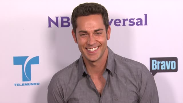 Zachary Levi at the NBC Universal Press Tour AllStar Party at Los Angeles CA