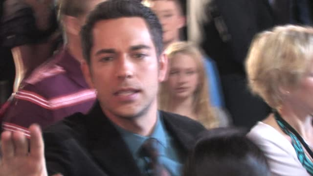 Zachary Levi at the premiere of 'Tangled' in Hollywood at the Celebrity Sightings in Los Angeles at Los Angeles CA