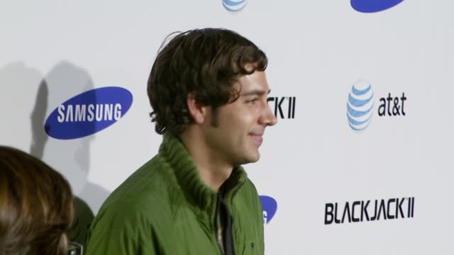 Zachary Levi at the Samsung Blackjack II Launch Party at Beso in Los Angeles California on November 14 2007